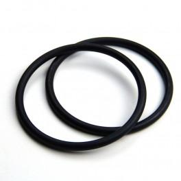 RS kroužky černé (1 pár)