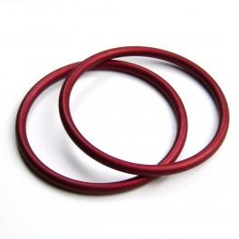 RS kroužky červené (1 pár)