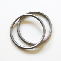 RS kroužky stříbrné (1 pár)