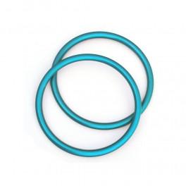 RS kroužky tyrkysové (1 pár)