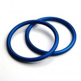 RS kroužky modré (1 pár)