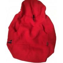 BabyDos valchovaná vlna třešňově červený