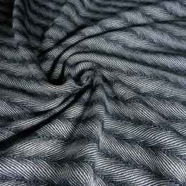 Twisted Lisca anthrazit - DIDYMOS šátek na nošení dětí