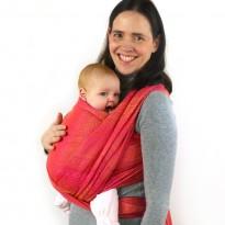 Ada pink Turmalin - DIDYMOS šátek na nošení dětí