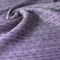 Ada Ultraviolett Hanf/Leinen - DIDYMOS šátek na nošení dětí