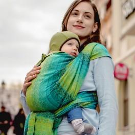 Ada Malachit - DIDYMOS šátek na nošení dětí