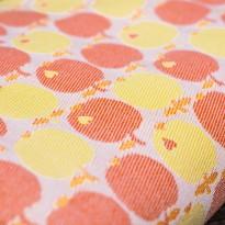 byGraziela Äpfel Orange - DIDYMOS šátek na nošení dětí