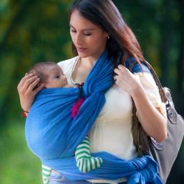Prima ultramarínový - DIDYMOS šátek na nošení dětí