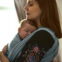 Ozean - DIDYMOS šátek na nošení dětí