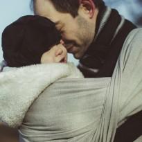 Silber - DIDYMOS šátek na nošení dětí
