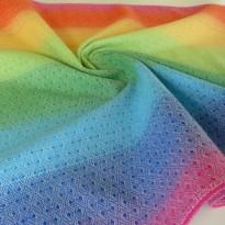 Regenbogen Diamant - DIDYMOS šátek na nošení dětí
