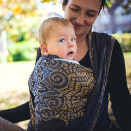 Kaleidoskop - DIDYMOS šátek na nošení dětí