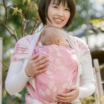 Kirschblüten Yayoi - DIDYMOS šátek na nošení dětí