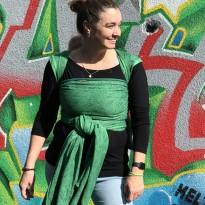 Grünes Dickicht - DIDYMOS šátek na nošení dětí
