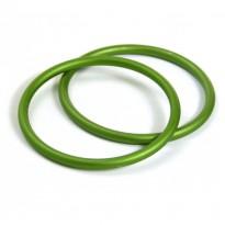 RS kroužky zelené (1 pár)