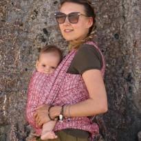 Ada Karmin - DIDYMOS šátek na nošení dětí