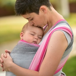 Lisca Herbstrose - DIDYMOS šátek na nošení dětí