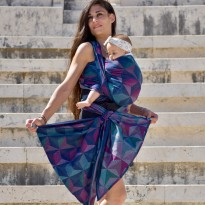 Zephyr Seide - DIDYMOS šátek na nošení dětí