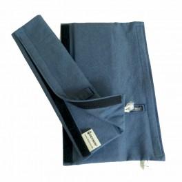 DidyPad Blue Denim - ramenní vycpávky pro nosítka DIDYMOS