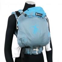 DidySnap Kanga Cool Water - DIDYMOS rostoucí ergonomické nosítko od narození