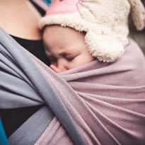 Doubleface Rosalinde - DIDYMOS šátek na nošení dětí