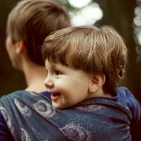 Pfauenaugen - DIDYMOS šátek na nošení dětí