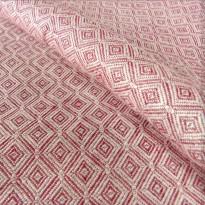 Diamant Rosso Lino - DIDYMOS šátek na nošení dětí