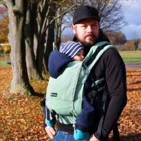 DidySnap Jade - DIDYMOS rostoucí ergonomické nosítko od narození