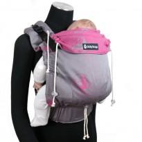 DidySnap Kanga Funky Pink - DIDYMOS rostoucí ergonomické nosítko od narození