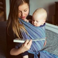 Moon River Hanf - DIDYMOS šátek na nošení dětí