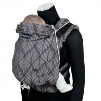 DidySnap Trias Rosé Leinen - DIDYMOS rostoucí ergonomické nosítko od narození