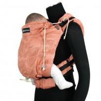 DidySnap Zauberwald Litschi - DIDYMOS rostoucí ergonomické nosítko od narození