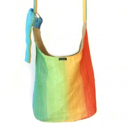 DIDYMOS taška přes rameno Lisca White Rainbow