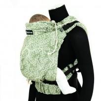 DidySnap Olivenzweig Leinen - DIDYMOS rostoucí ergonomické nosítko od narození